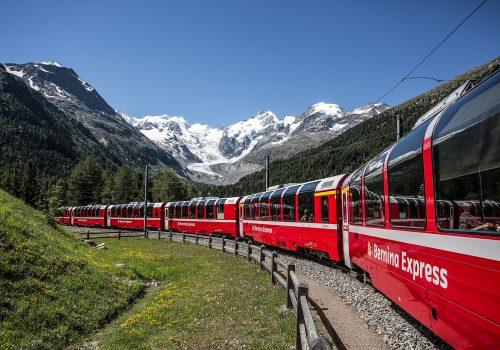 Morteratsch-Gletscher, Berninamassiv