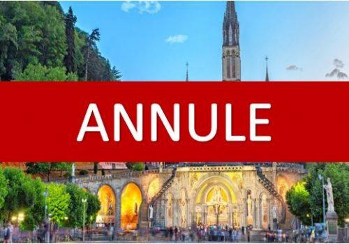 Lourdes Annulé