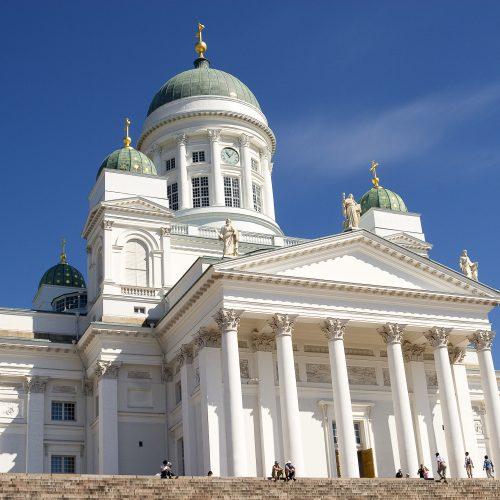 Finland, Helsinki - Senate Square